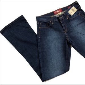NWT Lucky Brand Sofia 28 Long Dark Wash Jean